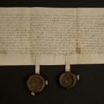 Zamek Żupny w Wieliczce. Najstarszy dokument z 1492 roku.