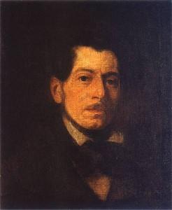 Autoportret. Piotr Michałowski.