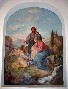 Obraz św. Rodziny, s Celina Michałowska. Foto: www.niepokalanki.pl