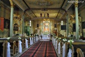 Wnętrze kościoła w Mętkowie. Foto: K. Wisniewska