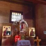 Chmura punktów dokumentująca wnętrze cerkwi w Smolniku.
