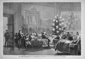 """Rysunek z dziennika """"Die Gartenlaube"""" (1871 r)."""