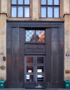 Wejście do Biblioteki Jagiellońskiej. Foto: Rymarek, Creative Commons