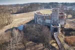 Zamek w Siewierzu.