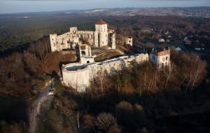 Zamek Tenczyn w Rudno.