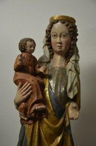 Madonna z Dzieciątkiem. Jabłonica.