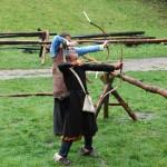BonKultury2014: Nadwislański Park Etnograficzny w Wygiełzowie. W kręgu łucznika i plebejskich zabaw.