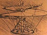 Szkic helikoptera. Leonardo da Vinci.