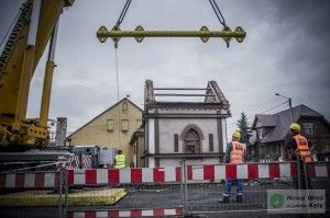 Przeniesienie zabytkowej kapliczki Nowa Wieś Kęty