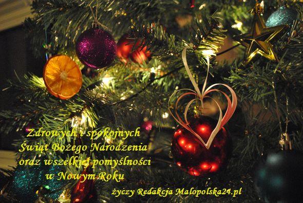 Malopolska24 Życzenia Świąteczne i Noworoczne