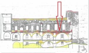 zawaliło się sklepienie na zamku Tenczyn