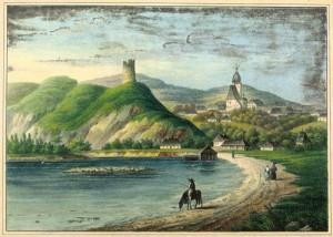 baszta w Czchowie 1837