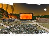 Widowisko inaugurujące działalność skansenu. Rysunek autorstwa Łukasza Szozdy, udostępniony na potrzeby artykułu autorstwa Wojciecha Pastuszki - zob. link na końcu artykułu.