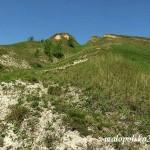 Gipsowe wzniesienie - okolice Skotnik Gornych