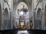 Podgórze, Kraków. Wnętrze kościoła pod wezwaniem Św. Józefa. Foto: Wikipedia.