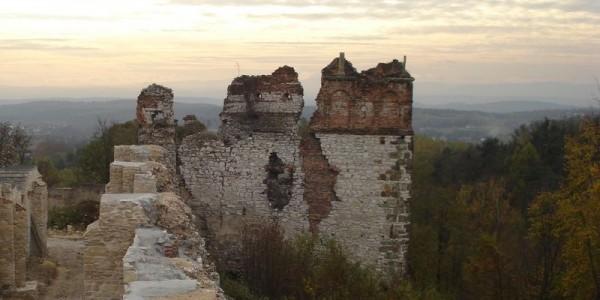 Baszta Grunwaldzka, zamek Tenczyn. Foto: Maciej Stępowski.