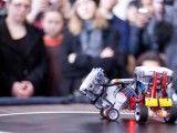 Zapasy robotów. Foto: RobotChallenge.